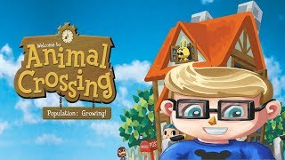 🔴 Animal Crossing Population: Growing! ( Gamecube ) LIVE with FaceCam Day 15