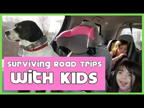 How to Survive Long Road Trips with Kids - Unboxing Road Trip Survival Goodies & Activity Bags