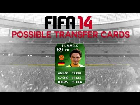 FIFA 14 SUMMER POTENTIAL TRANSFER CARDS