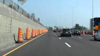 Ville Marie Expressway (Autoroute 720) eastbound [ALTERNATE TAKE]