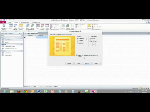 Microsoft Access 2010 Basic Overview