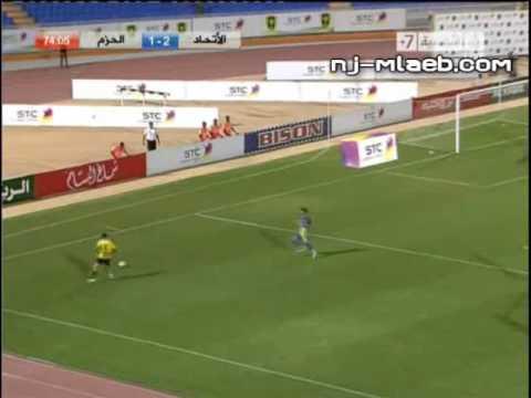 اهداف مباراة الاتحاد vs الحزم 4-1 كأس الملك