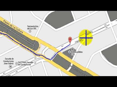 GMAP-PEDOMETER : Medir distancias para maratonistas