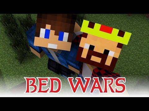 В ОДНОЙ КОМАНДЕ С АИДОМ! ВОТ ТАК ВСТРЕЧА! [Bed Wars Minecraft Mini-Game]
