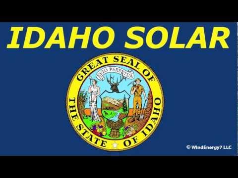 Idaho Solar Panels in Idaho   Solar