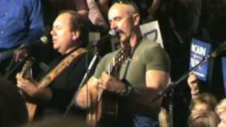"Aaron Tippin - ""Drill Here Drill Now"" at Palin Rally"