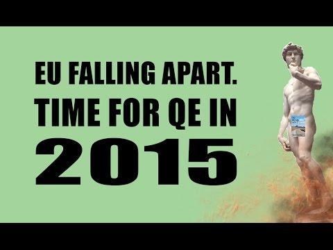 EU Deflation Causing Chaos as ECB Forced to Begin QE in 2015!