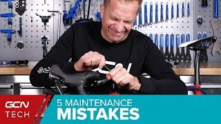 Worst Bicycle Maintenance Mistakes You Must Avoid! | GCN Tech's Top 5