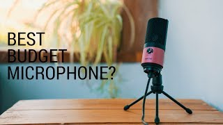 BEST BUDGET YOUTUBE MICROPHONE? Fifine K669 USB Microphone Review
