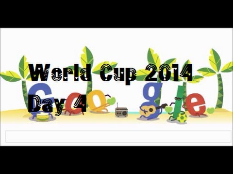 World Cup Brazil #GoogleDoodle Day 4 France, Ecuador, Switzerland, Honduras, Argentina, Bosnia