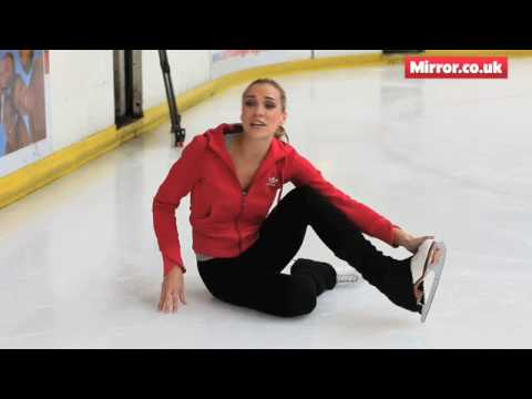 Jessica Taylor - Dancing On Ice star at a Daily Mirror 'on ice' location shoot.