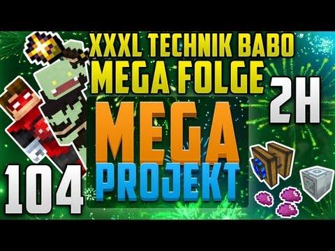 Die Mega Folge Xxxl - 2h Technik Des Todes! - Minecraft Mega Projekt #104 video