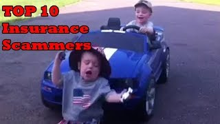 Top 10 Funny Insurance Scammers caught on tape - scammers get busted (insurance fraud)