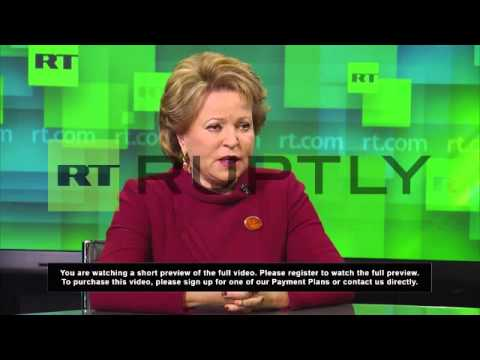 Russia: US has geopolitical goals in Ukraine - Matviyenko