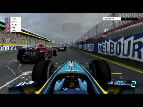 Formula One 06 Melbourne Race (PS2)