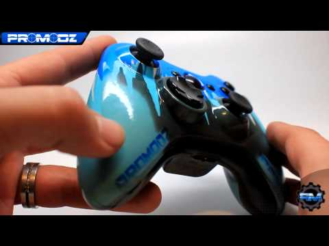 @IceMan_8o4 and Neon Camo Custom Controllers by ProModz.com