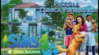 PICCOLA CLINICA VETERINARIA-The sims 4 ITA-Speed Building