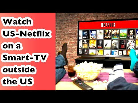 How to watch US-Netflix on a Smart-TV outside the US   Watch new House of Cards Season 4   Vlog #12
