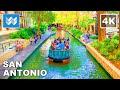 [4K] River Walk San Antonio, Texas - Pearl Brewery District to Downtown Center - 2020 Walking Tour