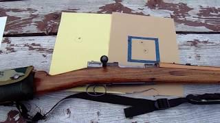 Sporterized Swedish M96 Mauser 6.5 x 55 range report SHTF