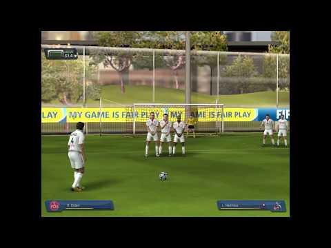 เทคนิคการยิงฟรีคิก FIFA Online 2