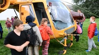 Kamov Ka-26 demo for elementary school students, Agárd