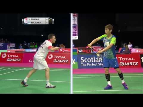 Total Bwf World Championships 2017 Badminton Day 1 M7 Ms