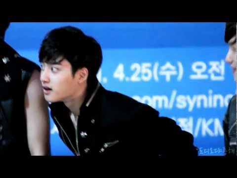 EXO D.O's cute figure + history dance.wmv Music Videos