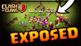EXTEND YOU ARMY CAMP CAPACITY TRICK EXPOSED CLASH OF CLANS•FUTURE T18