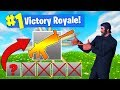 The *ONE GUN* CHALLENGE In Fortnite Battle Royale!