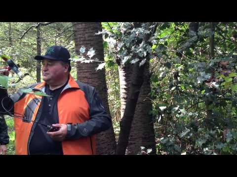 ARDF (Amateur Radio Direction Finding) 2m radio practice in Central Park in Burnaby BC