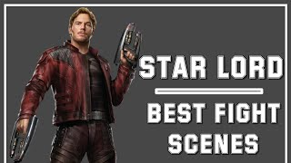 """Star-Lord - Fight/Sharpshooting & Gear Skills Compilation  + """"Avengers: Infinity War""""  By AZ Gamer"""
