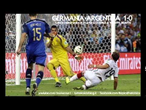 Germania-Argentina 1-0 - Radiocronaca Integrale di Francesco Repice & Giuseppe Bisantis (Radio Rai)
