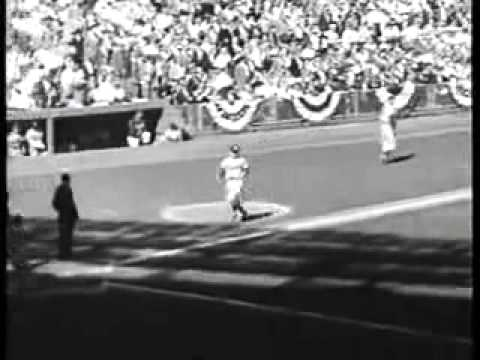 1955 World Series Dodgers/Yankees Highlights Jackie Steals Home