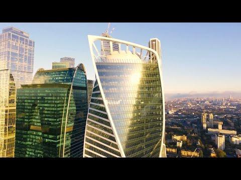 Виды Москвы с квадрокоптера 4K