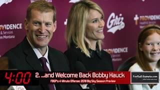 Football Gameplans 2018 Big Sky Season Preview - Team Breakdown