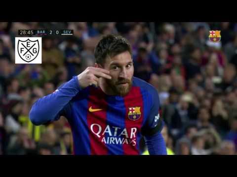 Los mejores festejos de Messi en Barcelona  FeG