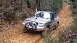 4wd compilation 4x4  offroad Nissan Patrol 2012 ( GQ and GU )