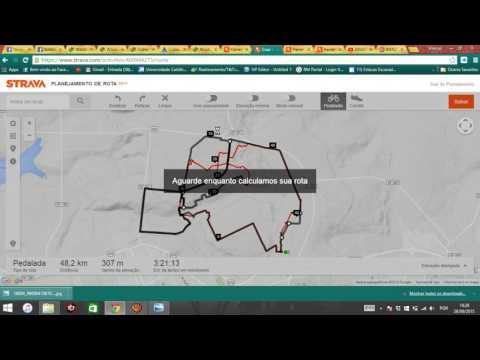 Como criar rotas de navegação no Strava / How to create routes navigate with Strava