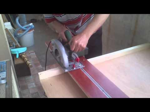 Направляющая шина для ручной циркулярной пилы своими