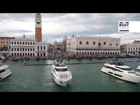 [ENG] FERRETTI YACHTS 50TH ANNIVERSARY IN VENICE - The Boat Show