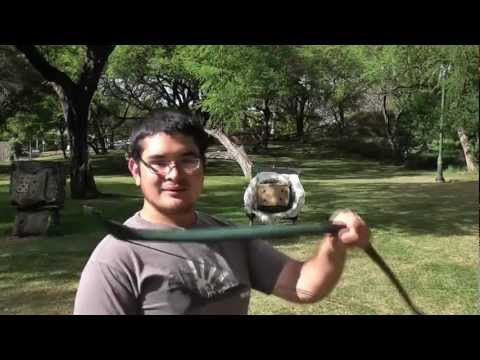 Shooting a Short Reflex Deflex PVC Bow