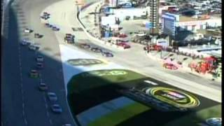 Kyle Busch Unsportsmanlike call 2 lap Penalty how it all Started Texas Sprint Cup Race 2010.mpg