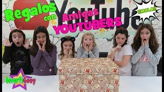 Abriendo Regalos de Navidad con amigos Youtubers en casa The Crazy Haacks | DivertiGuay