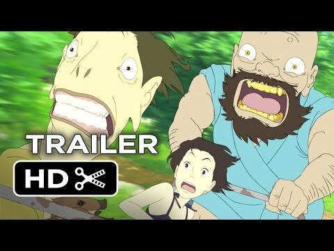 A Letter To Momo Official US Release Trailer 1 (2014) - Animated Movie HD