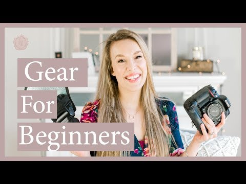 Best Camera Gear for Beginners   Nikon and Canon!