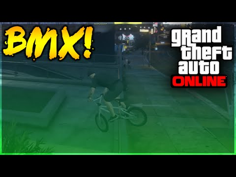 GTA 5 Stunts - AWESOME LIVE BMX STUNT SESSION! (GTA 5 Stunt Challenge)