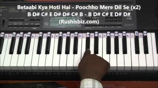 Nazar Ke Saamne Piano Tutorials - Aashqui(old)