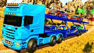 Offroad Police Truck - Driving Police Car and Helicopter | Best Offroad Simulator | Video HD