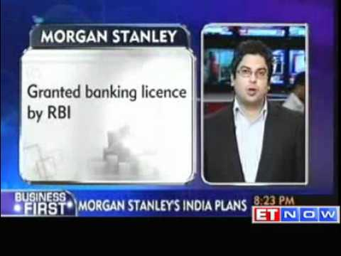 RBI grants banking licence to Morgan Stanley in India